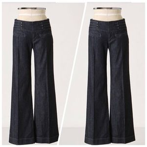 Daughters Of The Liberation Wide Leg Sailor Jeans